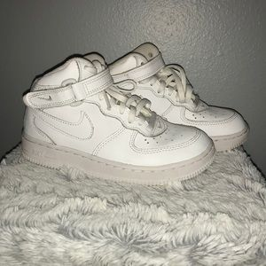 Boys Nike High tops size 13 C White